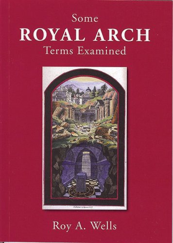 9780853183037: Some Royal Arch Terms Examined