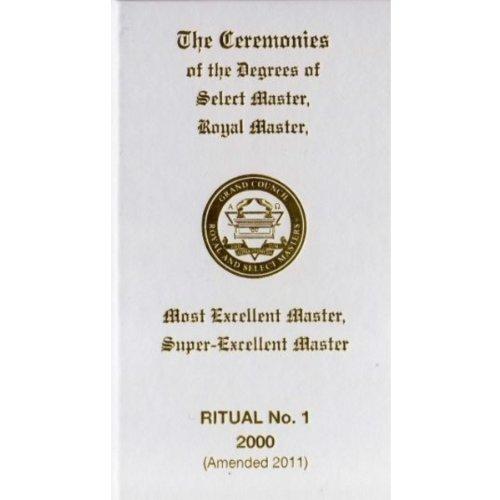 9780853183662: Royal and Select Masters Ritual: No. 1