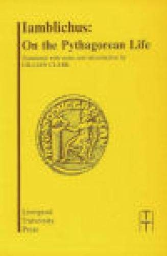 9780853233268: Iamblichus: On the Pythagorean Life (Translated Texts for Historians LUP)