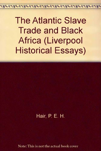 Essays atlantic slave trade