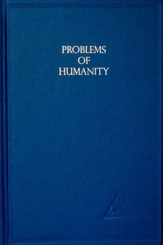 9780853300137: Problems of Humanity