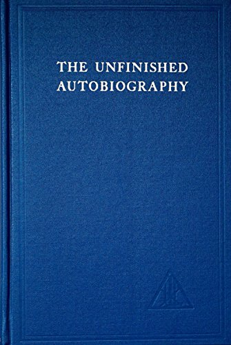 9780853300243: Unfinished Autobiography