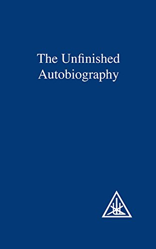 9780853301240: The Unfinished Autobiography