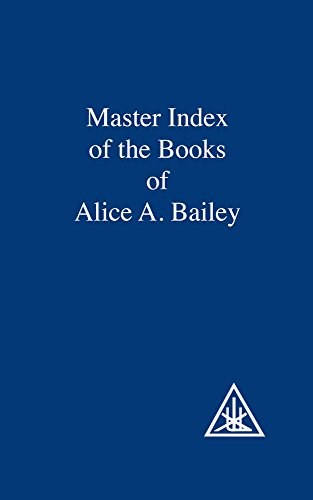 9780853301448: Master Index of the Book of Alice Bailey