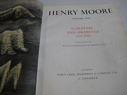 9780853310600: Henry Moore: Complete Sculpture v.1