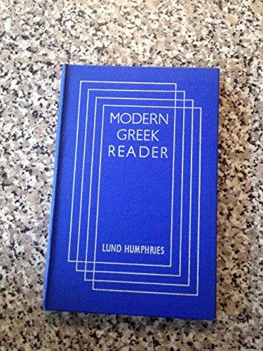 Modern Greek Reader