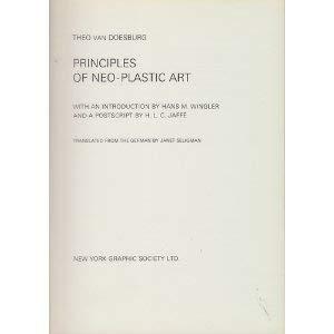 9780853311041: Principles of Neoplastic Art (A Bauhaus book)