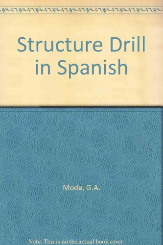 9780853311195: Structure Drill in Spanish