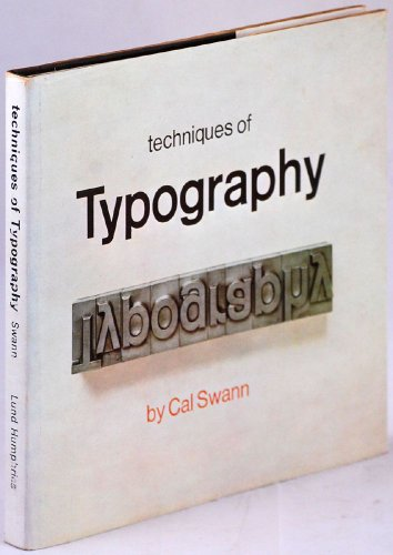 9780853312383: Techniques of Typography