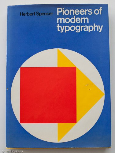 9780853312475: Pioneers of Modern Typography