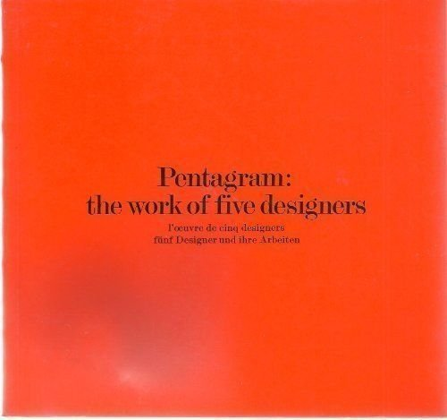 9780853313281: Pentagram: The Work of Five Designers (English, German and French Edition)