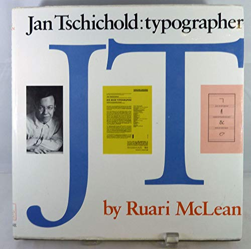 9780853313489: Jan Tschichold: Typographer