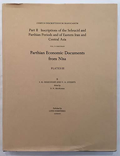 Corpus Inscriptionum Iranicarum: Inscriptions of the Seleucid