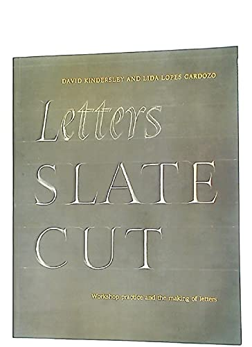 9780853314295: Letters Slate Cut: Workshop Practice and the Making of Letters