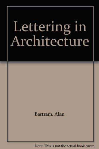 9780853314653: Lettering in Architecture