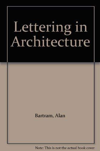 Lettering in Architecture: Bartram, Alan