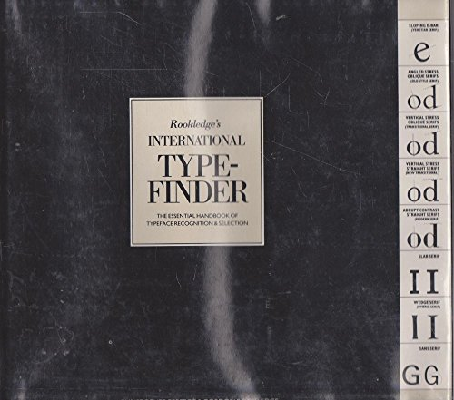 Rookledge's International Typefinder: Perfect, Christopher, Rookledge,