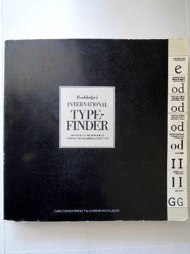 Rookledge's International Typefinder: Perfect, Christopher; Rookledge,