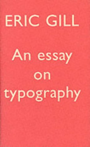 9780853315094: Essay on Typography