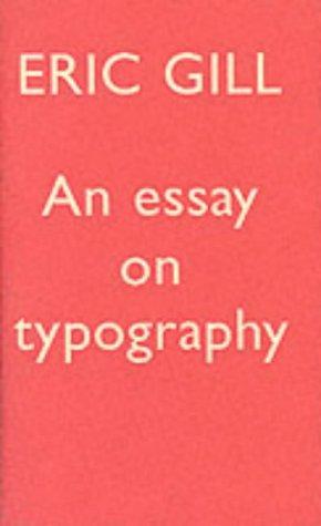 9780853315094: Essay on Typography