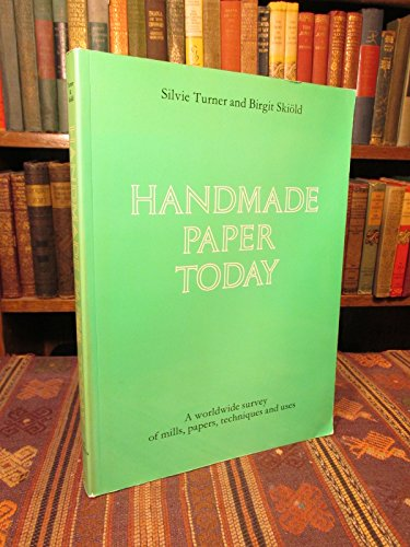 9780853315469: Handmade Paper Today
