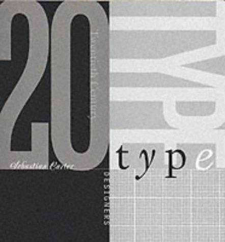 9780853318514: 20th Century Type Designers