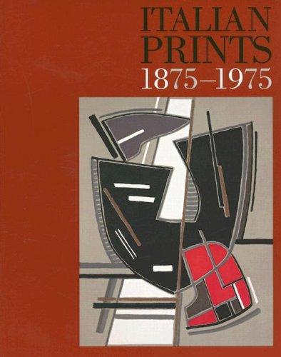 9780853319627: Italian Prints 1875-1975