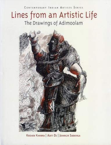 9780853319825: Lines from an Artistic Life: The Drawings of Adimoolam (Contemporary Indian Artists)