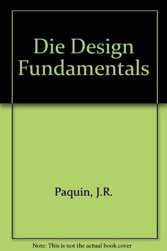 9780853331728: Die Design Fundamentals