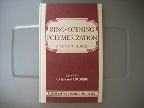 9780853342113: Ring-Opening Polymerization