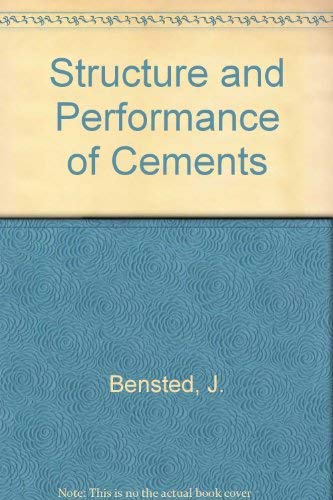 9780853342335: Structure and Performance of Cements