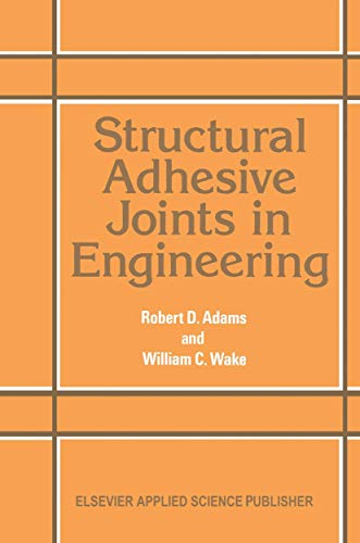 9780853342632: Structural Adhesive Joints in Engineering