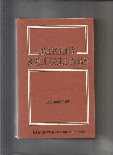 9780853342915: Bakery Specialties