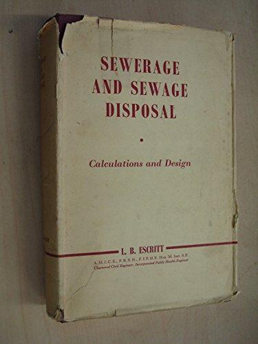 9780853343202: Sewerage and Sewage Disposal