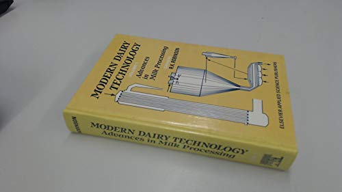 Modern Dairy Technology (Volume 1: Advances in: n/a