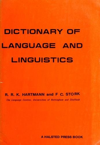 Dictionary of language and linguistics.