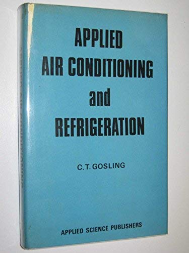 9780853345626: Applied Air Conditioning and Refrigeration