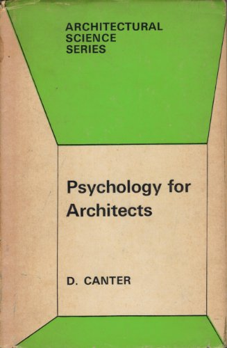 9780853345909: Psychology for Architects (Architectural Science)