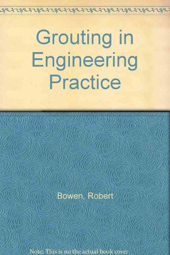 9780853346456: Grouting in Engineering Practice