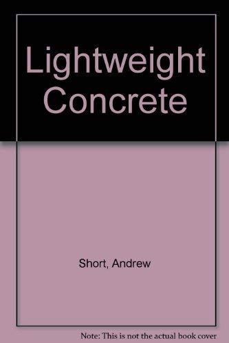Lightweight concrete: Short, Andrew