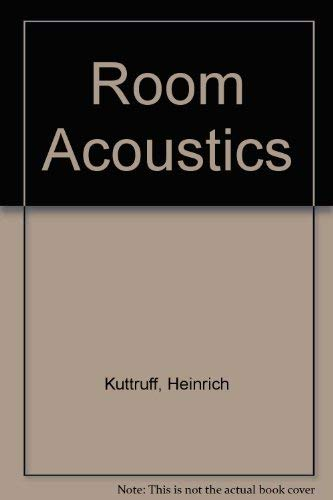 9780853348139: Room Acoustics by Kuttruff, Heinrich