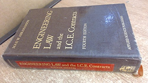9780853348269: Engineering Law and the I.C.E. Contracts