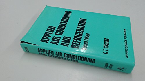 9780853348771: Applied Air Conditioning and Refrigeration