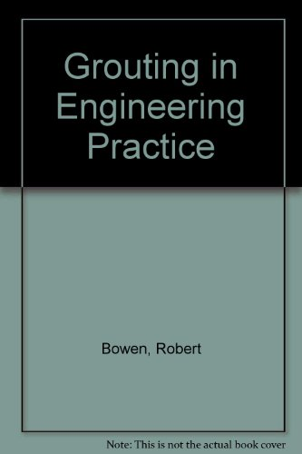 9780853349433: Grouting in Engineering Practice