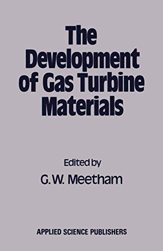 9780853349525: Development of Gas Turbine Materials