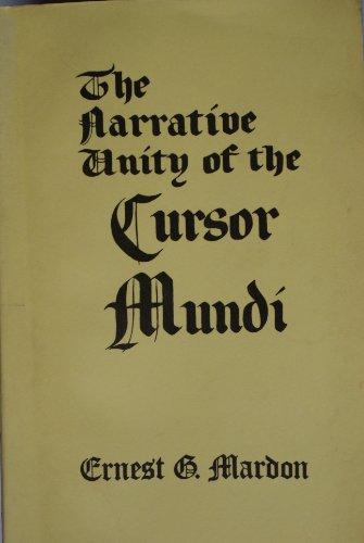The Narrative Unity of the Cursor Mundi: Ernest G. Mardon