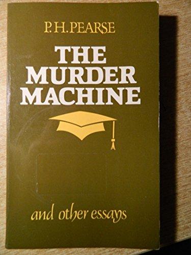9780853424710: Murder Machine and Other Essays