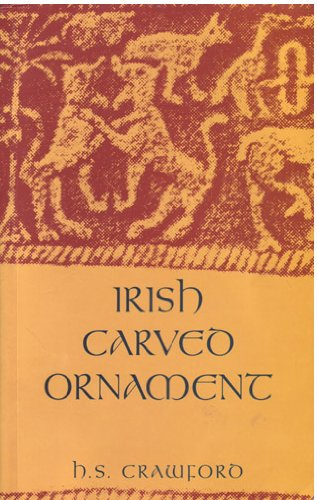 Irish Carved Ornament from Monuments of the: Crawford, Henry S.