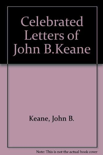 9780853429845: The Celebrated Letters of John B. Keane