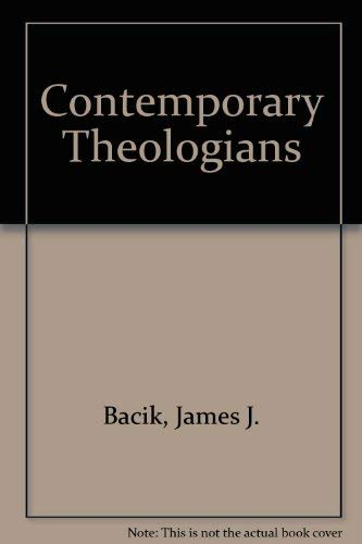 9780853429920: Contemporary Theologians